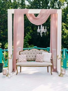 How to style a wedding photo backdrop, photo booth or photo op. Read the post.