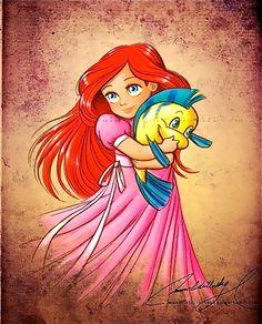 Ariel da piccola