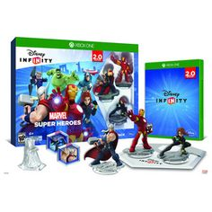 Disney Infinity 2.0 Marvel Super Heroes Starter Kit for Xbox One