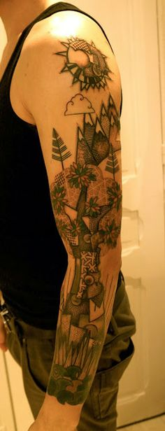 ART BY NOON: TATTOO OF THE DAY...