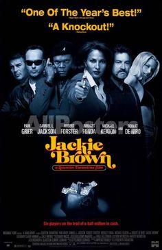 Jackie Brown Movies Masterprint - 28 x 43 cm