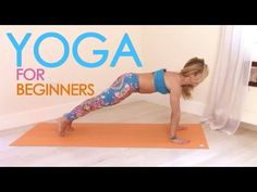 Easy Yoga for Beginners with Kino - YouTube