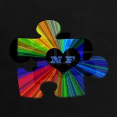 """Solve the NF puzzle""  Now this would make a great NF tat ;)"