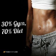 30% Gym 70% diet - Summer bodies