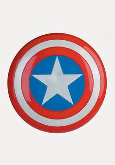 Buy this Captain America superhero shield for an authentic accessory for an adult costume or as a child toy. Captain America is a great superhero and used this shield as a weapon too. High Quality Halloween Costumes, Halloween Costume Accessories, Captain America Costume, Captain America Shield, Superhero Room, Superhero Party, Halloween Supplies, Captain American, Party Props