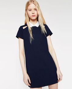 Image 2 of DRESS WITH CUT-OUTS from Zara