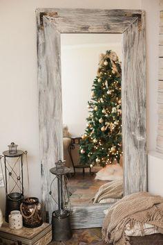 18 Driftwood Decor Ideas | Floor mirror, Driftwood and House