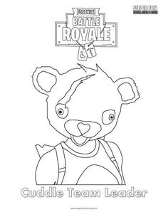 Fortnite Coloring Sheets To Print Fortnite Party Inspiration In