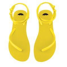 Mrs. Lilien's Loves: FLEEPS Sandals in Sunny Yellow | CoastalLiving.com