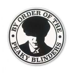 Blinders Sticker - Entertainment Peaky Blinders Sticker - Entertainment By Order Of The Peaky Blinders Razor Blade Peaky Blinders Theme, Peaky Blinders Poster, Peaky Blinders Wallpaper, Peaky Blinders Quotes, Cillian Murphy Peaky Blinders, Peaky Blinders Merchandise, Peeky Blinders, Red Right Hand, Tumblr Stickers