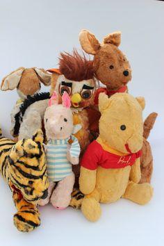https://www.etsy.com/treasury/MTg3NzM2Mzh8MjcyMjcxMzgzOQ/childhood Vintage Winnie The Pooh Toy Doll Collection by FlynnTellsAStory, $897.00