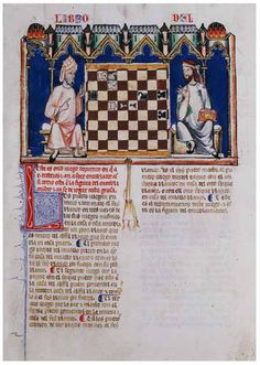 Alfonso X Book of Games. 84f
