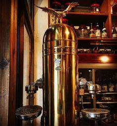 エスプレッソマシーン  これはカッコいいな  #穴とら屋 #懐かしい #エスプレッソ #エスプレッソマシン #かっこいい #espresso #espressomachine #cool #blass #水戸 http://ift.tt/1VbgBi2