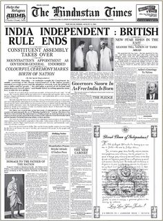 How Attlee beat Churchill to fulfil the promise of self-rule.- How Attlee beat Churchill to fulfil the promise of self-rule in India How Attlee beat Churchill to fulfil the promise of self-rule in India - Churchill, Frases Indie, 15 August 1947, Independent Day, 1947 India, Happy Independence Day India, Indian Independence Day Quotes, Birth Of Nation, India Quotes