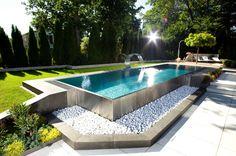 14 piscinas de acero inoxidable ideales para este verano (de Vanesa Matesanz)