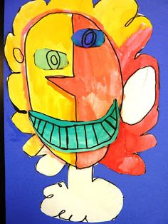 Mary's Art Spot: First Grade Picasso's