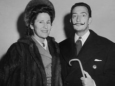 Salvador Dali et Gala