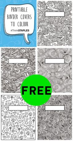 FREE Printable Binder Covers! via @truecouponing