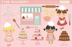 The bakery-clipart By Poppymoon Design