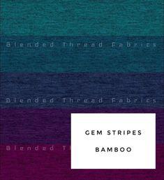 Gem Stripes Bamboo knit - Twirl Skirt Yoga Band, Twirl Skirt, Arm Warmers, Bamboo, Gems, Stripes, Knitting, Skirts, Fabric