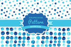 Check out Vector watercolor seamless pattern by Markovka on Creative Market