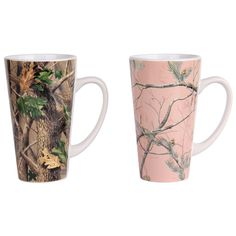 I want white camo NOT pink.Gander Mountain Realtree Camouflage His and Her Mug Set