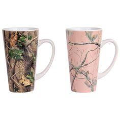 Gander Mountain Realtree Camouflage 16-oz. His and Her Mug Set  #Realtreecamo