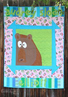 Zoey's Zoo Quilt Pattern by Sassafras Lane Designs