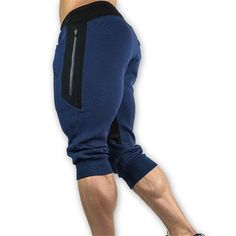 247a278896257e 2017 Hot sales Summer mens Leisure Calf length Cropped pants Manliligla