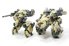 Player-made Lego Mech Warrio Killing Machines