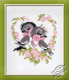 Birds In Love - Cross Stitch Kits by RIOLIS - 524