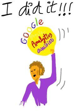 Conseguida la Certificación de Google Analytics!