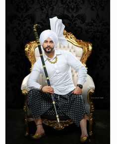 Indian Groom Wear, Punjabi Fashion, Turban, Desi, Culture, Mens Fashion, Sweet, How To Wear, Clothes