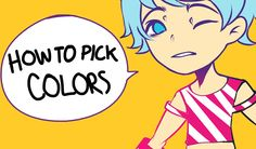 How to choose colors for your character