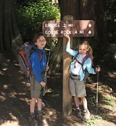 hiking gear - Kids included!