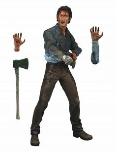 Evil Dead 2 Farewell To Arms Ash Action Figure - Neca Action figures Action Figures Neca Movie Action Figures Movie Merchandise - Excalibur ...