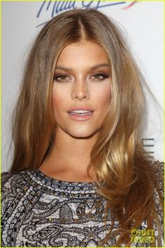 Nina Agdal attend the Sports Illustrated Swimsuit 2015′s Swim City Celebration - http://celebs-life.com/?p=84472