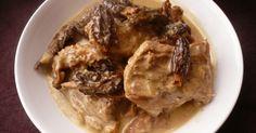 """750g vous propose la recette """"Sauté de veau aux morilles"""" publiée par jpdojp."""