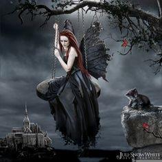 Female Fantasy Gothic Bloody Art   igital-art-Paintings-Fantasy-Art-fantasy-women-erotic-HELEN-MORENITA ...