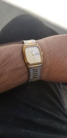 [identification] can anyone help me identify this watch my grandfather gave me? I know its a timex but id like to know the exact model so i can get the movement fixed. Thanks ! via /r/Watches