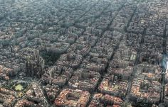 34 Barcelona, Spain - The Most Amazing High Resolution Aerial Photos From Around The World