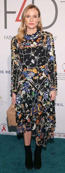 Diane Kruger - Preen Fall 15