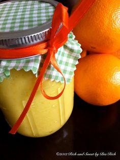 Spiked Vanilla Orange Curd.