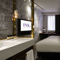 Brèves de Voyages : Août 2016 - Amsterdam : l'hôtel Ink Travel News : August 2016 - Amsterdam : the hotel Ink @plumevoyage © DR  www.ink-amsterdam.nl #amsterdam #inkhotels #inkamsterdam #mgallery #sofitel #hotel #luxe #brevesdevoyages #travelnews #plumevoyage