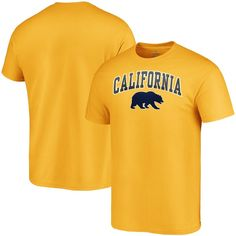 You live and breathe everything having to do with your favorite college crew: the Cal Bears. So represent the squad in a new way with this Fanatics Branded Campus T-shirt. The classic crew neck design of this tee coupled with the official team logo printed beneath an arched wordmark will add a genuine vibe to any of your Cal Bears game day getups. Ndsu Bison, Mens Navy Shorts, Bears Game, California Golden Bears, Flat Bill Hats, Shop Fans, Eagles Nfl, Blue T, Chicago White Sox