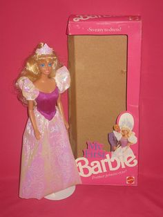 This My First Barbie was really my first barbie! lol... apparently she is from 1989.  For years I just called her Princess, but eventually decided she needed a name, so I called her Alice.