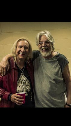 Joe Walsh and Bob Seger