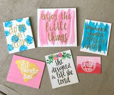 21 Trendy Painting Ideas On Canvas Quotes Cute Etsy Dorm Canvas Art, Canvas Painting Quotes, Small Canvas Paintings, Dorm Art, Mini Canvas Art, Easy Canvas Painting, Cute Paintings, Diy Canvas, Diy Painting