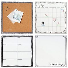 Wall Pop Organizational Set (I can actually make this design myself).
