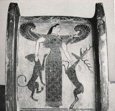 Artemis, Mistress of the Animals, Greek Vase Painting